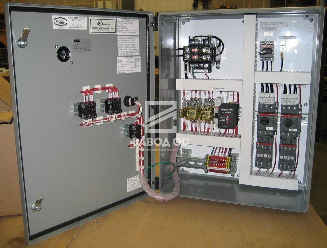 2 щит автоматики управления насосами, щиты автоматики насосов, щиты автоматизации насосных станция, щит